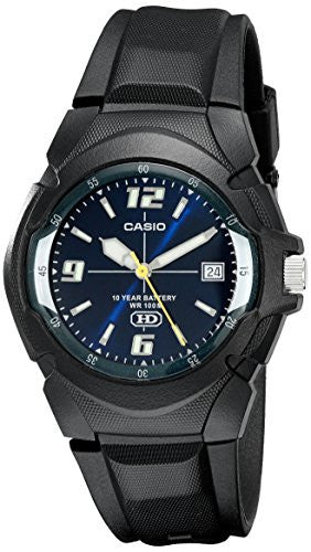 Casio Men's MW600F-2AV Analog Quartz Black Watch