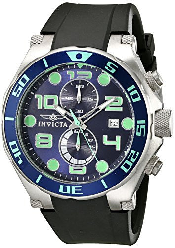 Invicta Men's 17813 Pro Diver Analog Display Quartz Black Watch