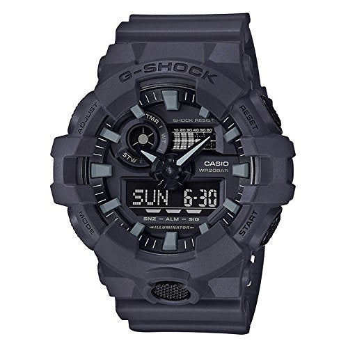 Casio Men's 'G SHOCK' Quartz Resin Casual Watch, Color:Grey (Model: GA-700UC-8ACR)