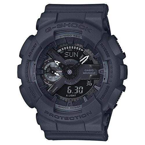 Casio G-Shock Black Dial Resin Quartz Men's Watch GMAS110CM-8A
