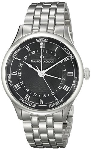 Maurice Lacroix Men's MP6507-SS002-310 Tradition Analog Display Swiss Automatic Silver Watch