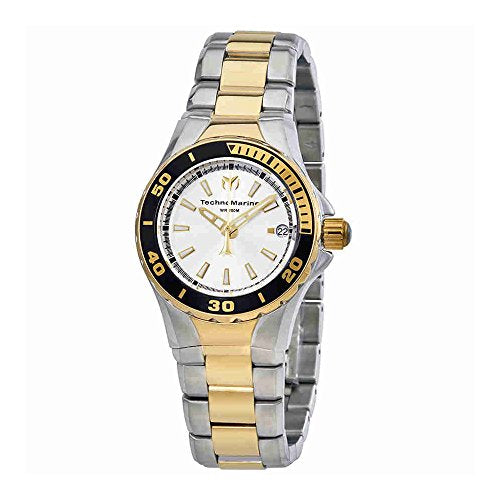 Technomarine Women's 'Sea Manta' Quartz Stainless Steel Casual Watch, Color:Two Tone (Model: TM-215008)