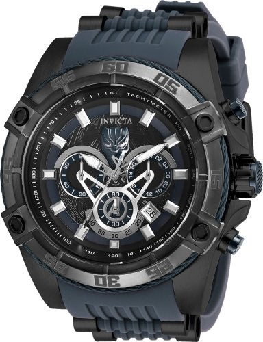 Invicta Marvel 52mm Bolt Viper Limited Edition BLACK PANTHER Chronograph Black Dial Watch