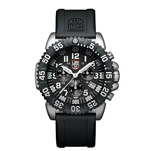 Luminox Navy SEAL Colormark Chronograph Black Dial Mens Watch 3181