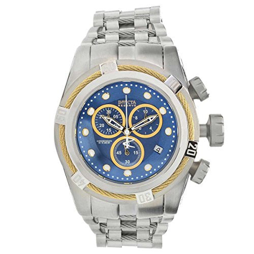 Invicta Reserve 53mm Bolt Zeus Swiss Quartz Chronograph Stainless Steel Bracelet Watch Model 22157