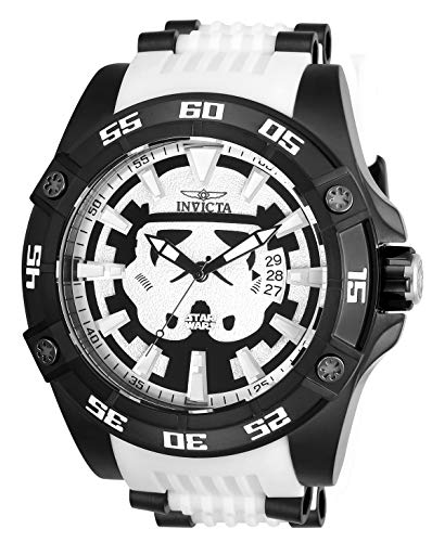 Invicta Marvel 26516 Star Wars White Silicone Strap Stainless Steel Limited Edition Men's Watch