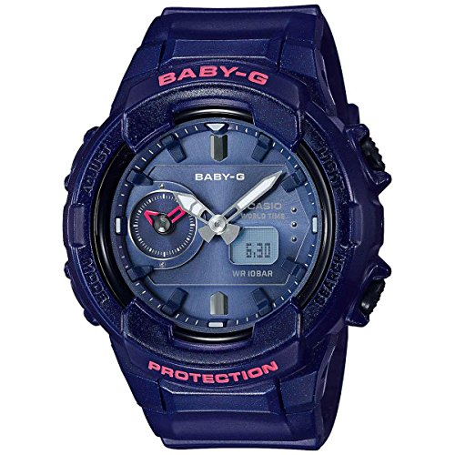 Casio Baby-G Navy Blue Resin Watch BGA230S-2A