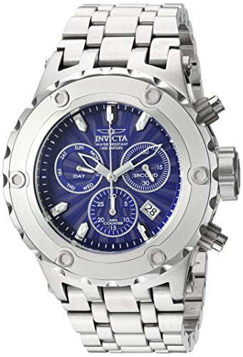 Invicta Men's 'Subaqua' Quartz Stainless Steel Casual Watch, Color:Silver-Toned (Model: 23995)