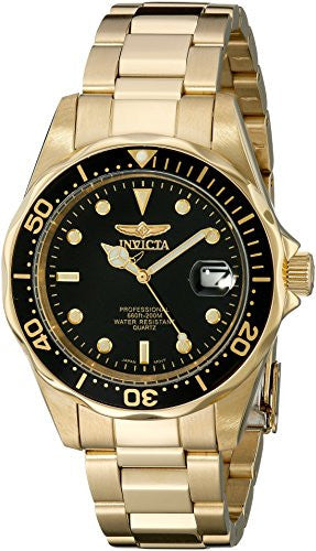 Invicta Men's 8936 Pro Diver Collection 23k Gold Plated Watch