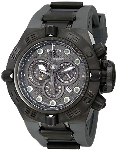 Invicta Men's 11805 Subaqua Noma IV Chronograph Grey Cut Out Dial Grey Rubber Watch