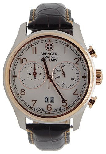 "Wenger Swiss Army Rose Gold ""Zermat"" Chronograph Watch 79020"