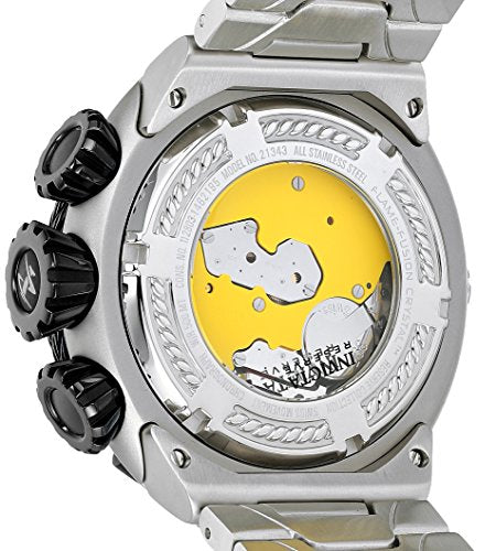 Invicta Men's 'Bolt' Swiss Quartz Stainless Steel Casual Watch, Color:Silver-Toned (Model: 21344)