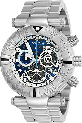 Invicta Men's 'Subaqua' Quartz Stainless Steel Casual Watch, Color:Silver-Toned (Model: 24986)