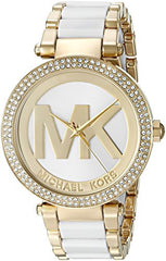 Michael Kors Women's Parker Gold-Tone Watch MK6313