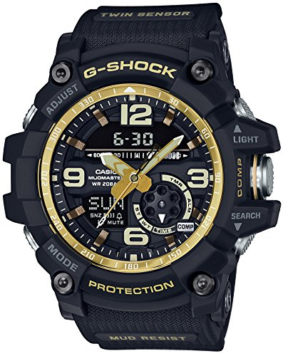 CASIO G-SHOCK MASTER OF G Vintage Black & Gold MUDMASTER GG-1000GB-1AJF MENS JAPAN IMPORT