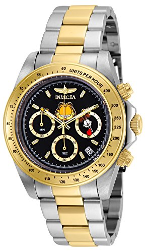 Invicta Men's 'Character Collection' Quartz Stainless Steel Casual Watch, Color:Two Tone (Model: 24890)