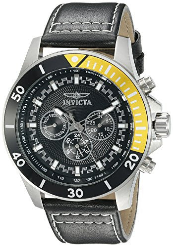 Invicta Men's 21479 Pro Diver Analog Display Swiss Quartz Black Watch