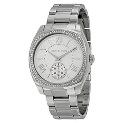 Michael Kors Women's Bryn Silver-Tone Watch MK6133