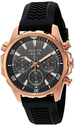 Bulova Men's Quartz Stainless Steel Dress Watch (Model: 97B153)