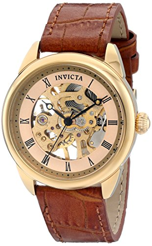 Invicta Women's 17197 Specialty Analog Display Mechanical Hand Wind Brown Watch