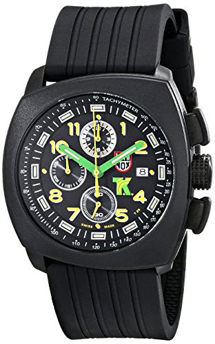 Luminox Men's 1101 Tony Kanaan Analog Display Analog Quartz Black Watch