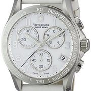 Victorinox Swiss Army Women's 241418 Classic White Mother-Of-Pearl Dial Watch
