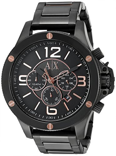 Armani Exchange Men's AX1513  Black  Watch