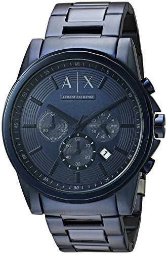 Armani Exchange Men's AX2512  Blue IP  Watch