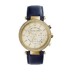 Michael Kors Women's Parker Blue Watch MK2280