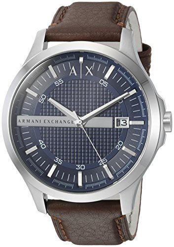 Armani Exchange Men's AX2133 Brown  Leather Watch