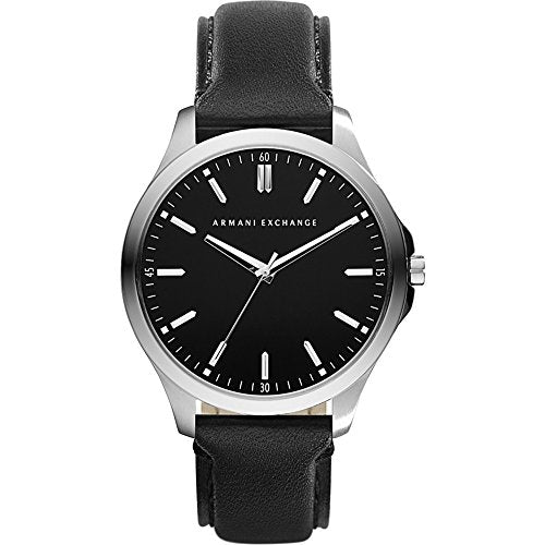 Armani Exchange Men's AX2149  Black  Leather Watch