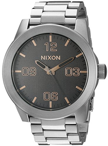 Nixon Men's A3462064 Corporal SS Analog Display Analog Quartz Watch