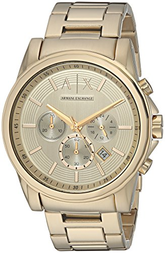 Armani Exchange Men's AX2099  Gold  Watch
