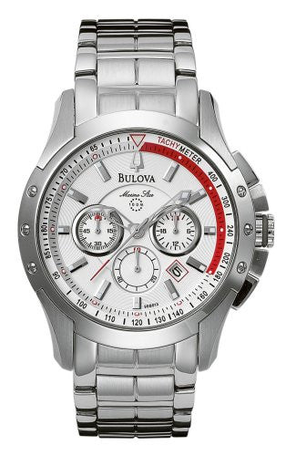 Bulova Men's 96B013 Marine Star Chronograph Watch