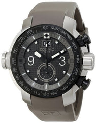Zodiac ZMX Men's ZO8525 Special Ops Stainless Steel Watch With Gray Rubber Band