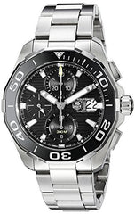 121689a57d9 TAG Heuer Men s CAY211A.BA0927 Aquaracr Analog Display Swiss Automatic  Silver Watch