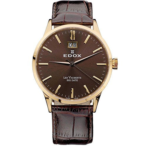 EDOX Les Vauberts Men's watches 63001-37R-BRIR