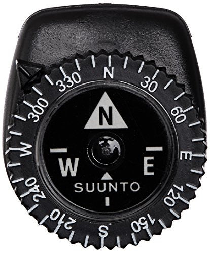 Suunto Clipper Watch Band Compass (Black, One Size)