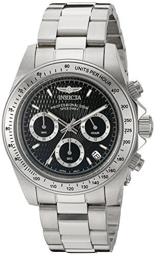 Invicta Men's 9223 Speedway Analog Japanese Quartz Silver Watch
