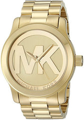 Michael Kors Women's Runway Gold-Tone Watch MK5473