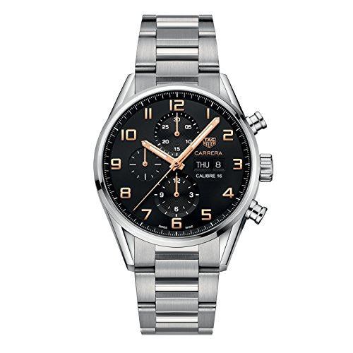 TAG Heuer Carrera Black Dial Calibre 16 Men's Watch CV2A1AB.BA0738