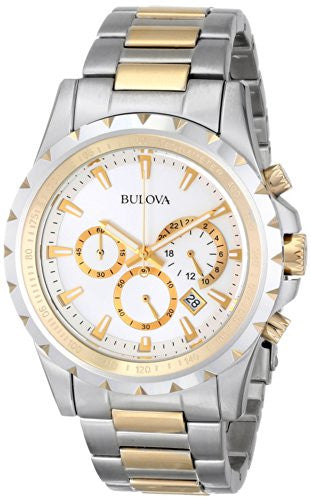 Bulova Men's 98B014 Marine Star Stainless Steel Chronograph Watch