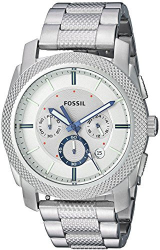 Fossil Men's FS5324 Machine Chronograph Stainless Steel Watch