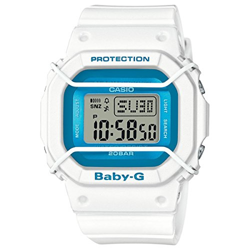 Casio Baby-G BGD501FS-7 Blue / White Silicone Analog Quartz Unisex Watch