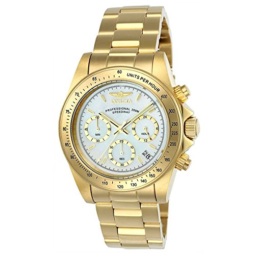 Invicta Men's 'Connection' Quartz Stainless Steel Casual Watch, Color:Gold-Toned (Model: 24770)