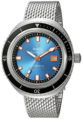 Zodiac Men's 'Super Seawolf 68 Extreme' Swiss Automatic Stainless Steel Casual Watch, Color:Silver-Toned (Model: ZO9502)