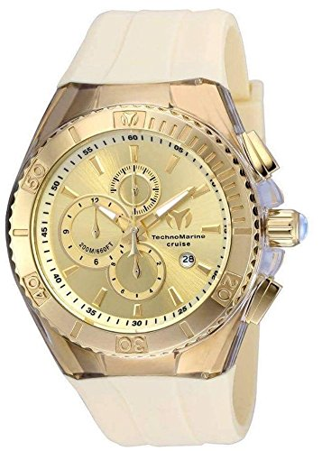 Technomarine Men's TM-115216 Cruise Star Analog Display Quartz Yellow Watch