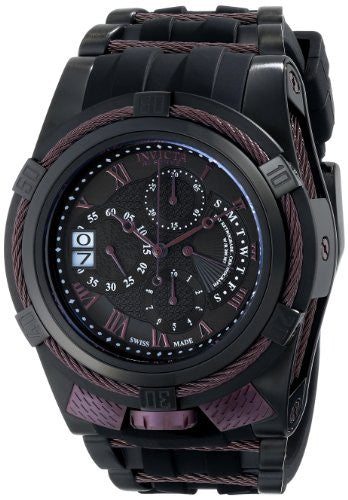 Invicta Men's 12678 Bolt Analog Display Swiss Quartz Black Watch