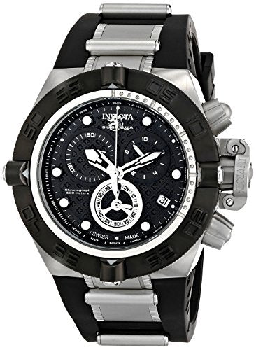 Invicta Men's 16142 Subaqua Analog Display Swiss Quartz Black Watch