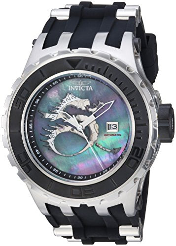 Invicta Men's 'Subaqua' Automatic Stainless Steel and Silicone Casual Watch, Color:Two Tone (Model: 25029)